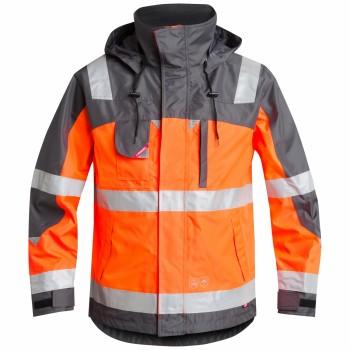 "Engel - Pilot Shell-Jacke ""SAFETY"" L / 10 Orange"