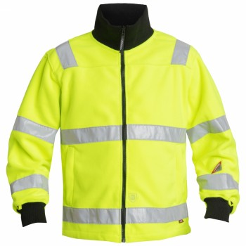 "Engel - Fleecejacke ""SAFETY"" L / 10 Orange"