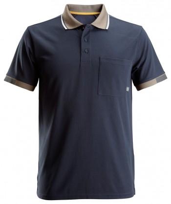 "Snickers-Kurzarm Poloshirt ""ALLROUND WORK"" L / 0400 - Black"
