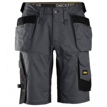 Snickers - Stretch-Shorts mit Holstertaschen 50 / 5604 True Blue/Black
