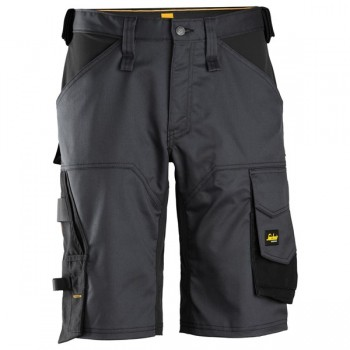 Snickers - Stretch-Shorts 50 / 0404 Black/Black