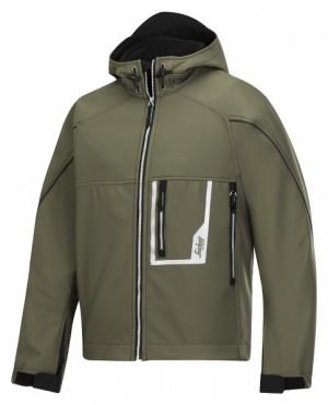 Softshell Jacke mit Kapuze