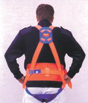 Auffanggurt SIT-Standard mit Rückenstütze gepolstert