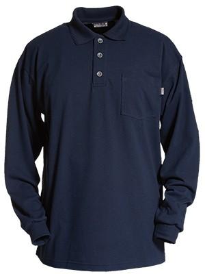 Tranemo-Multischutz Langarm Polo Shirt