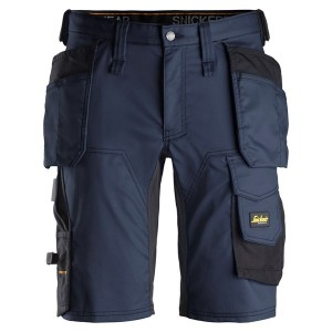 "Snickers- Stretch Shorts ""ALLROUND WORK"" mit Holstertaschen"