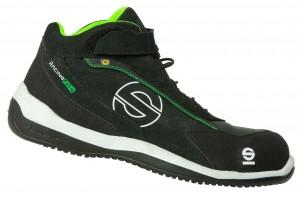 "Sparco-Stiefel niedrig ""RACING EVO"" S3 black-green"