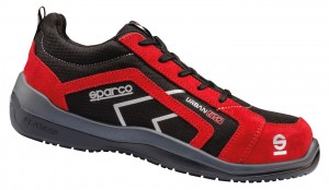 "SPARCO - Halbschuh ""URBAN EVO"" red S3"