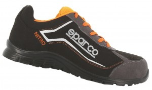 "Sparco-Halbschuh ""NITRO"" black-orange S3 ESD"