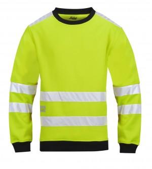 Warnschutz Mikro Fleece Rundkragensweatshirt