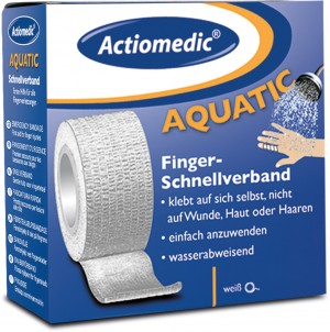 "GRAMM-Actiomedic ""AQUATIC"" selbsthaftender Schnellverband One size"