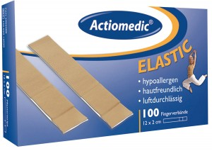 "GRAMM-Actiomedic ""ELASTIC"" Fingerverband 12 x 2 cm Pack á 100 Stk."