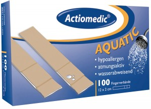 "GRAMM-Actiomedic ""AQUATIC"" Fingerverband 12 x 2 cm Pack á 100 Stk."