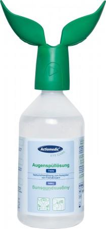"""GRAMM-Actiomedic Augenspülflasche """"TWIN"""" mit Natriumchloridlösung 0,9% 500ml"""