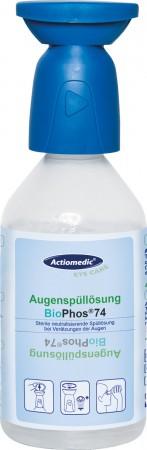 GRAMM-Actiomedic Augenspülflasche mit phosphatgepufferter Spüllösung BioPhos74 4,9% 250 ml