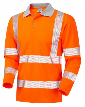 """CoolViz-Plus"" - Polo-Shirt ""BARRICANE""  EN 20471 Kl. 3"