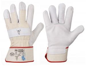 "Rindspaltleder-Handschuhe ""STIERKOPF"" (Karton)"