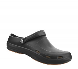 "Fit Clog-""Basic air"" schwarz"