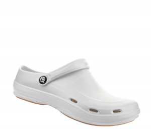 "Fit Clog ""Basic air"" weiss"