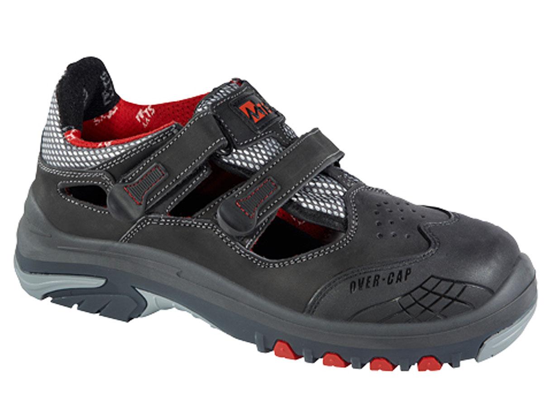 "MTS-Sandale ""VENTO"" EN ISO 20345 S1P, Flex ÜK metallfrei 39"