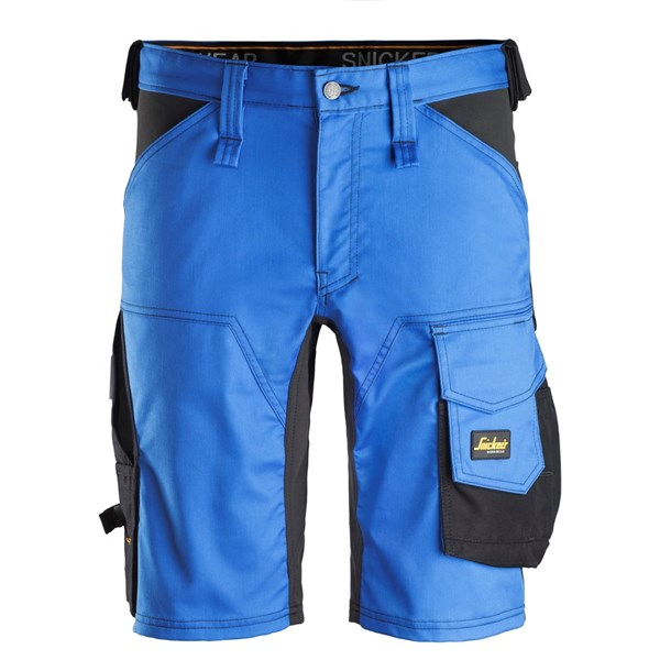 "Snickers - Stretch Shorts ""ALLROUND WORK"" 50 / 5604 True Blue/Black"
