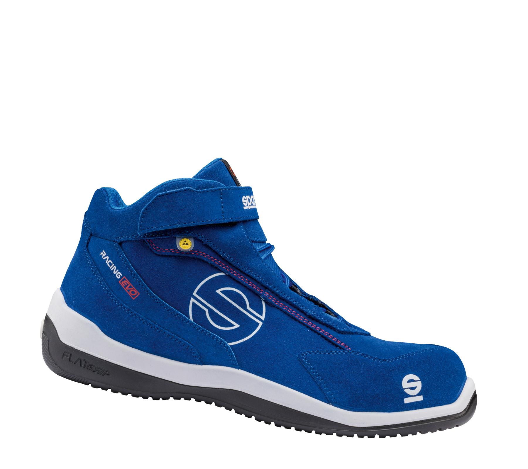 "Sparco - Stiefel niedrig ""BLUE RACING EVO"" S3 ESD 45"