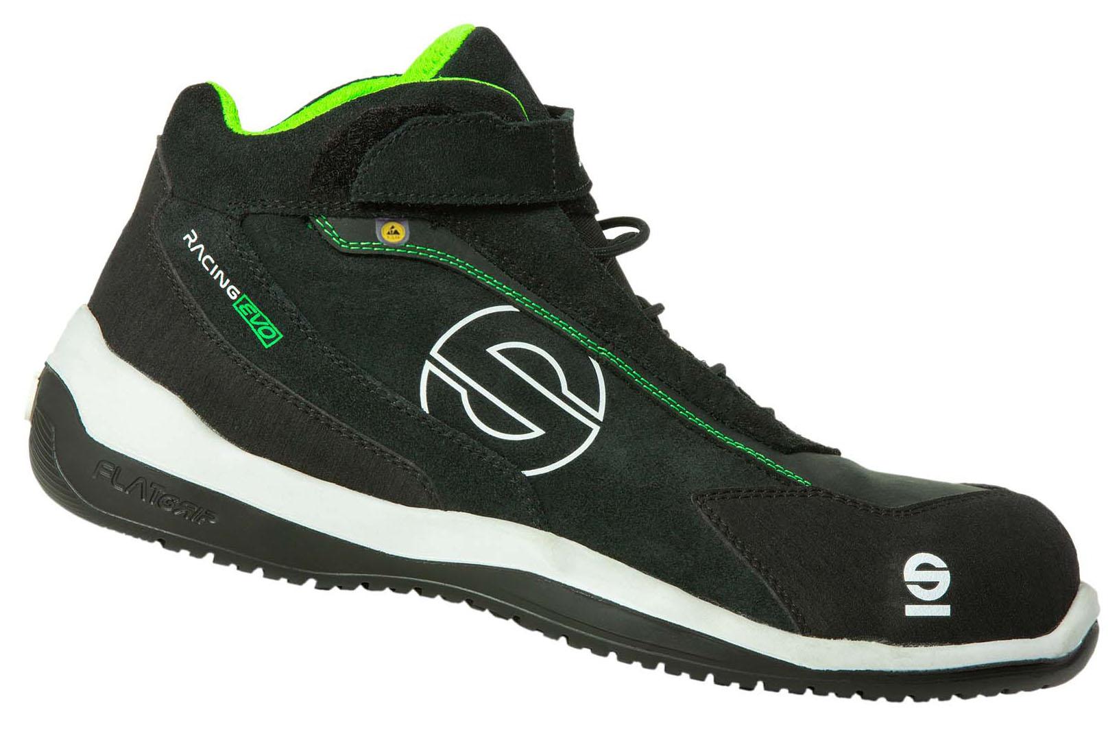 "Sparco-Stiefel niedrig ""RACING EVO"" S3 black-green 46"