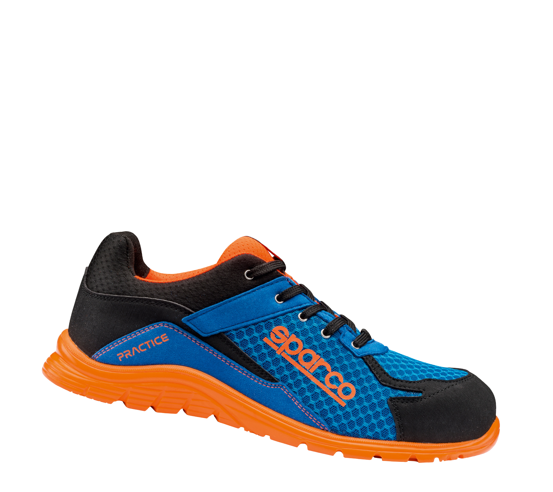 "Sparco-Halbschuh ""BLUE ORANGE PRACTICE"" 43"