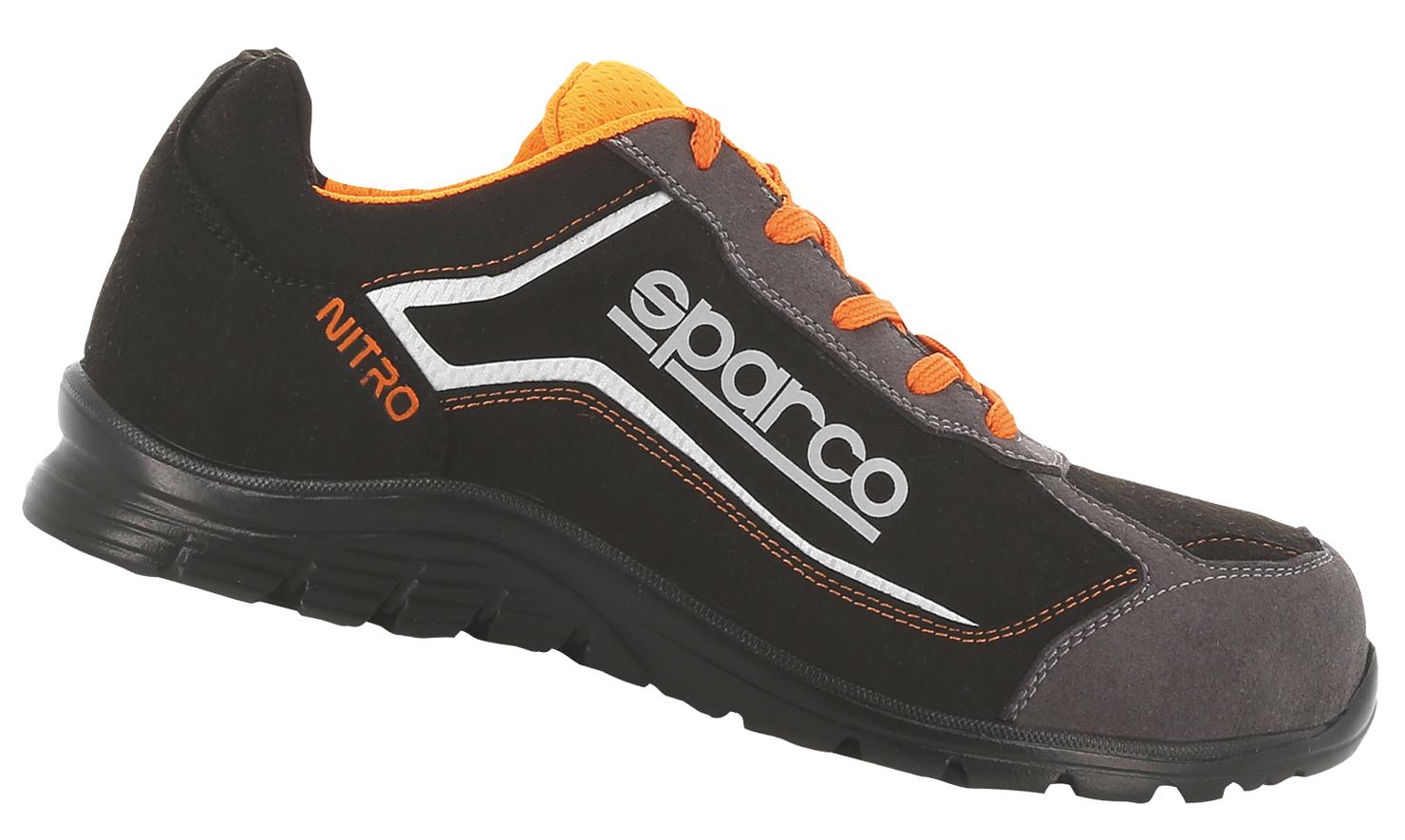 "SPARCO - Halbschuh ""NITRO"" S3 black-orange 43"