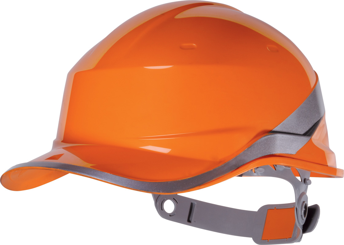 "Delta Plus Schutzhelm ""BASEBALL DIAMOND V"" Orange"