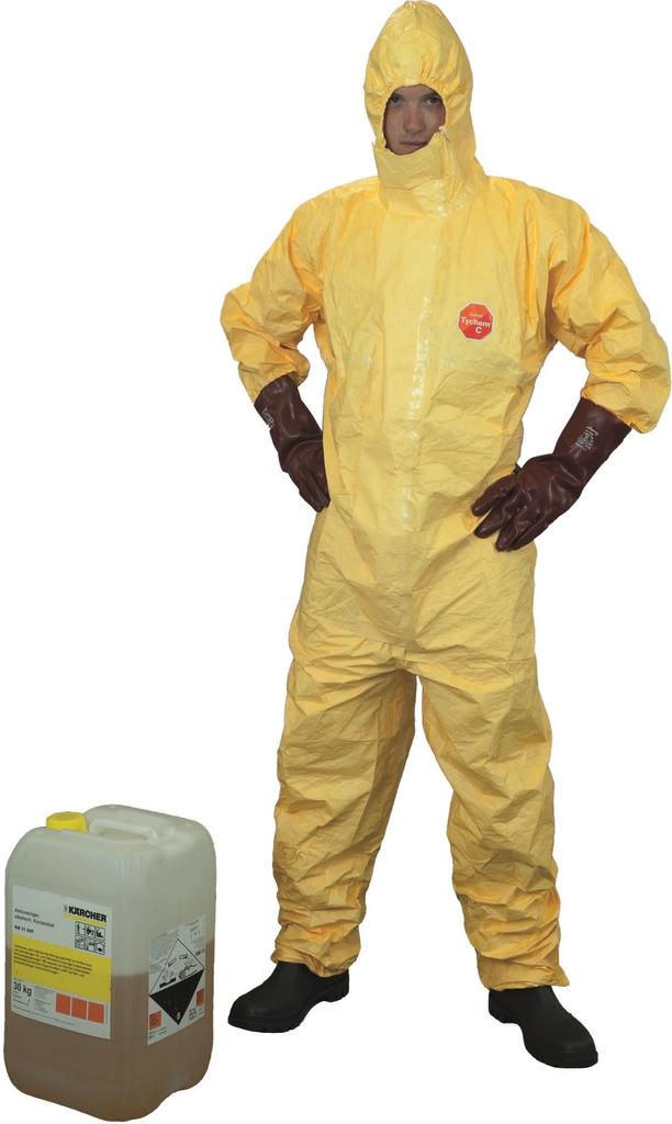 DuPONT Chemikalienschutzanzug Tychem C M